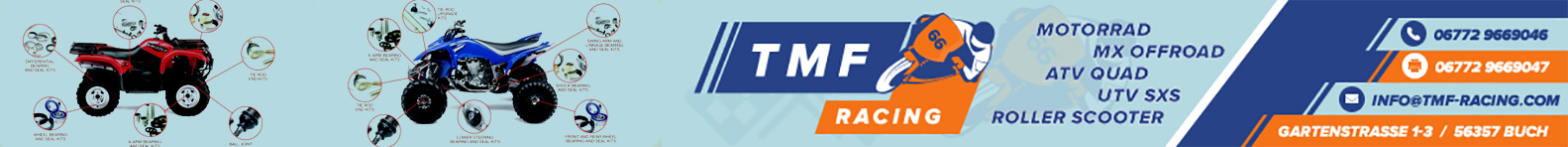TMF-RACING High Performance MX & ATV & Street & ScooterParts
