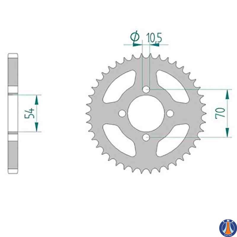 SUZUKI GS500 F 2004-2010 Heavy Duty O-Ring Chain /& Sprocket Set Kit
