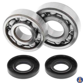 Crank Bearing and Seal Kit Kawasaki KX125 85-87