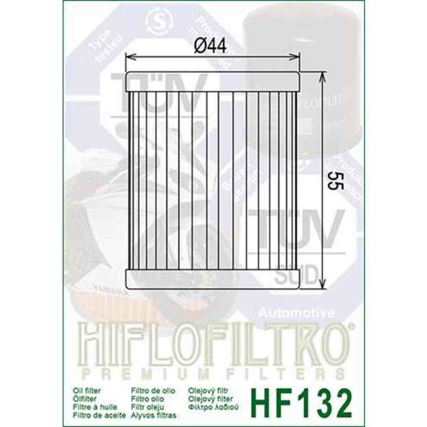 Hiflofiltro /Ölfilter HF-132 MBK Skyliner 400 Suzuki Burgmann 250 Burgmann 400 b
